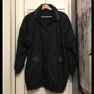 Jackets & Blazers - Vintage 90's Bad Ass Retro Ski PARTY Jacket L